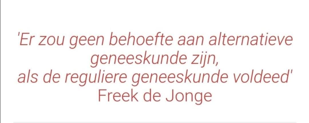 Freek heeft gelijk